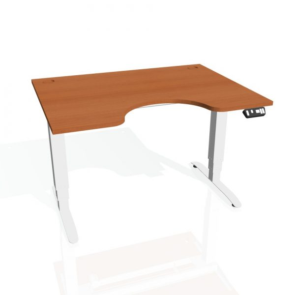 elektromotorisch h henverstellbarer tisch ergo 120 cm handschalter mit 3 speicherpositionen. Black Bedroom Furniture Sets. Home Design Ideas